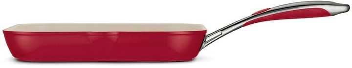Tramontina Gourmet Ceramica Deluxe 11-in. Square Grill Pan