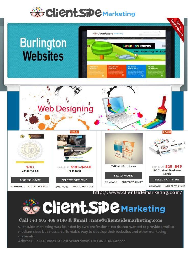 7 best clientside marketing images on pinterest marketing see why hundreds of business in burlington and oakville are trust on clientside marketing for web colourmoves