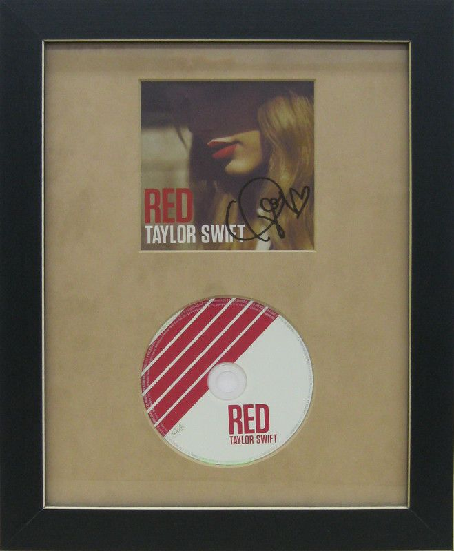 Taylor Swift Memorabilia | Examples | Custom Framing | Pictures Frames and More