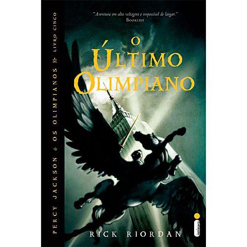 O Último Olimpiano - quinto livro de Percy Jackson e os Olimpianos