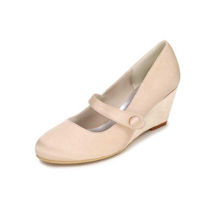 Элегантные краткие женщины одеваются обувь средний каблук насосы пляж свадьба свадебные клинья с ремень королевский синий белый кот фиолетовый(China (Mainland))