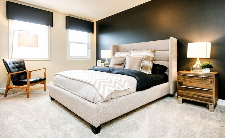 You'll never want to leave your bed with a room looking like this!