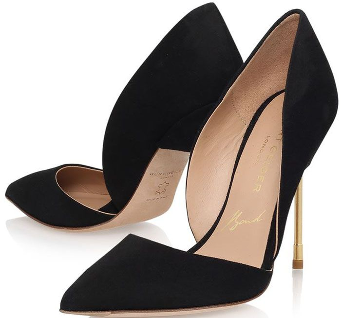 "Kurt Geiger ""Bond"" Suede Pumps"