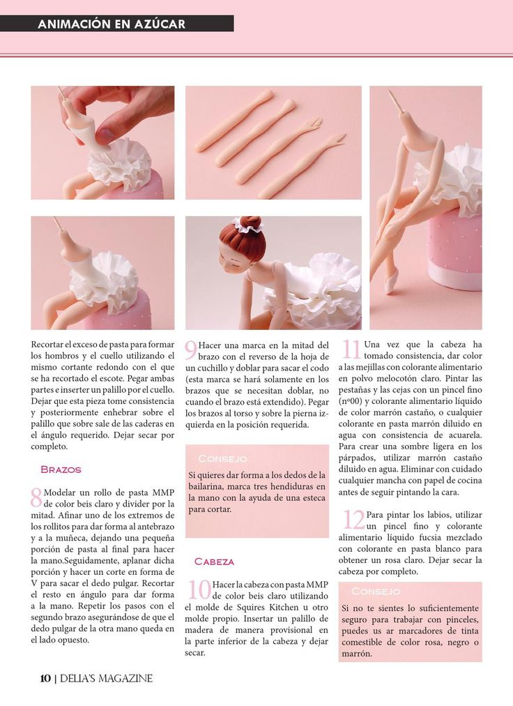 ISSUU - Delia's Magazine nº4 by Delia's Magazine gumpaste ballerina directions
