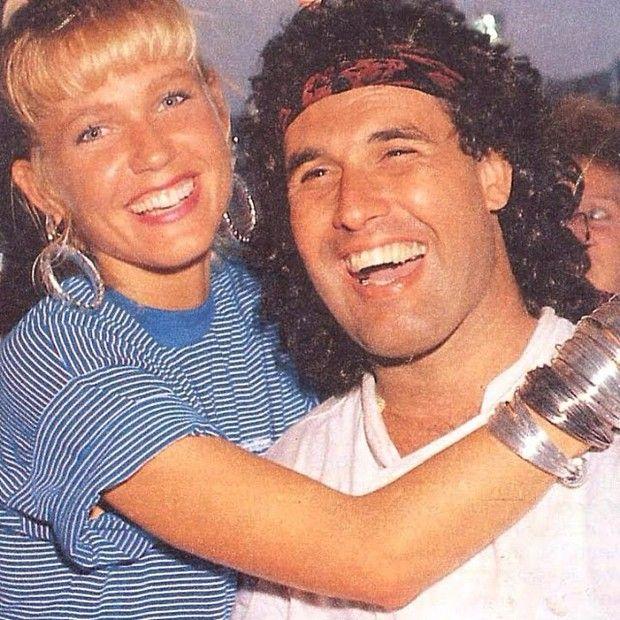 Sergio Mallandro posta foto antiga ao lado de Xuxa