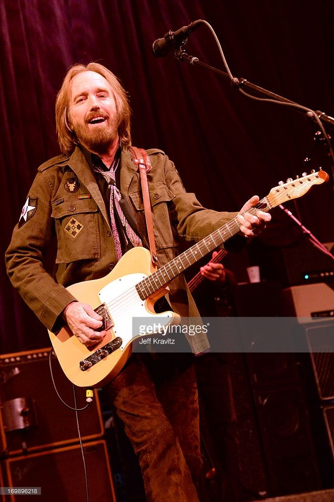 Tom Petty of Tom Petty And The Heartbreakers performs at The Fonda Theatre on June 3, 2013 in Los Angeles, California.