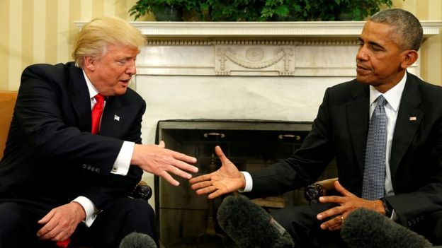 A spokesman for Obama denies issued any orders to eavesdrop on phone Trump, Obama denies Trump's unsubstantiated claim that he wiretapped