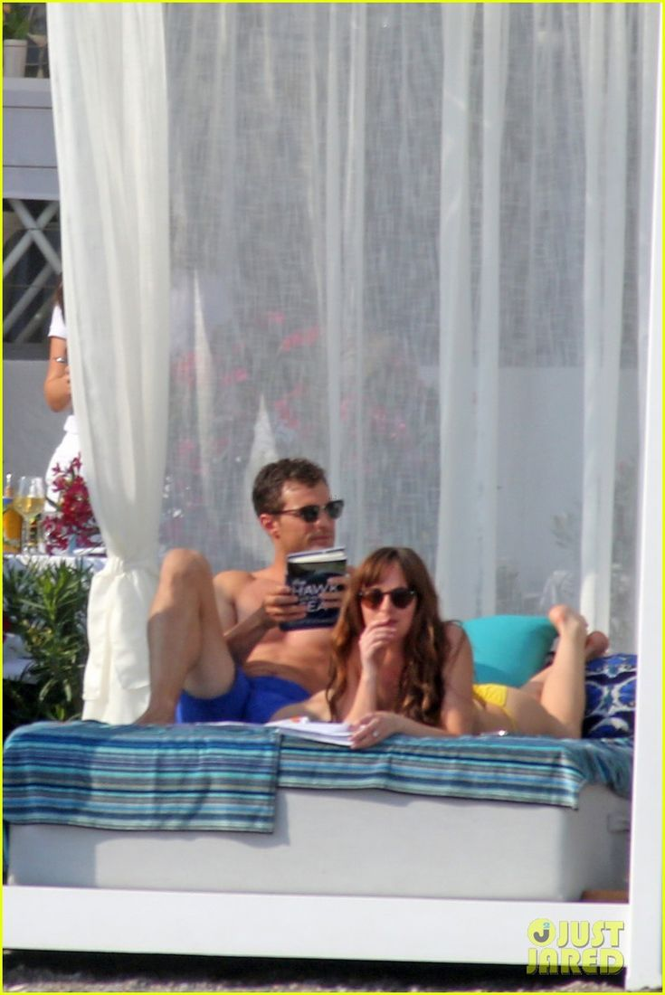 Shirtless Jamie Dornan & Bikini-Clad Dakota Johnson Film 'Fifty Shades' Beach Scene!: Photo #3704232. Jamie Dornan shows off his ripped shirtless body while filming the (spoiler alert) honeymoon scene for Fifty Shades Freed on Tuesday (July 12) in Saint-Jean-Cap-Ferrat,…