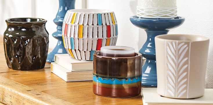 Scent Pod Warmers make for the perfect flameless way for fragrance!