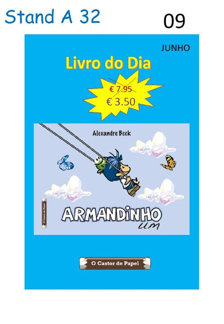 O Castor de Papel: Livros do Dia Stand A 32 4Estações Editora. Dias 0...