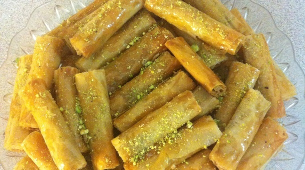 how to make arabic sweets baklava