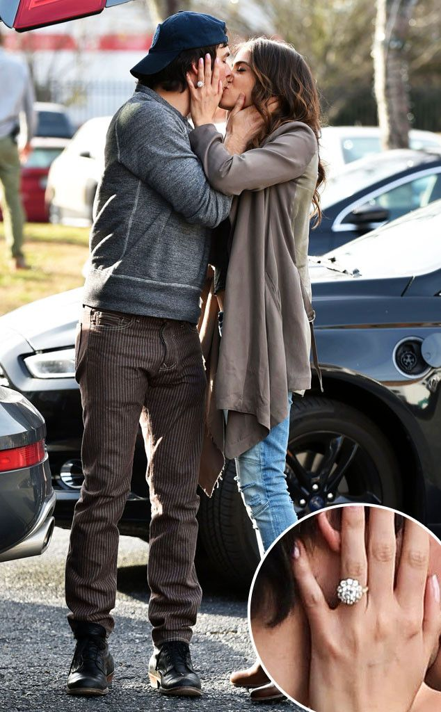 Nikki Reed Flashes Her Diamond Engagement Ring from Ian Somerhalder for the First Time—See the Pic!  Nikki Reed, Ian Somerhalder, Engagement Ring