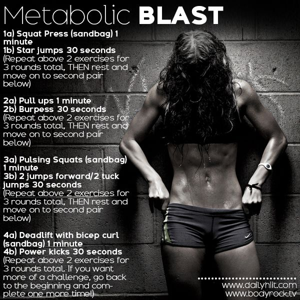 Bikini Ready http://www.dailyhiit.com/hiit-blog/hiit-workout/bikini-ready-3-metabolic-blast/