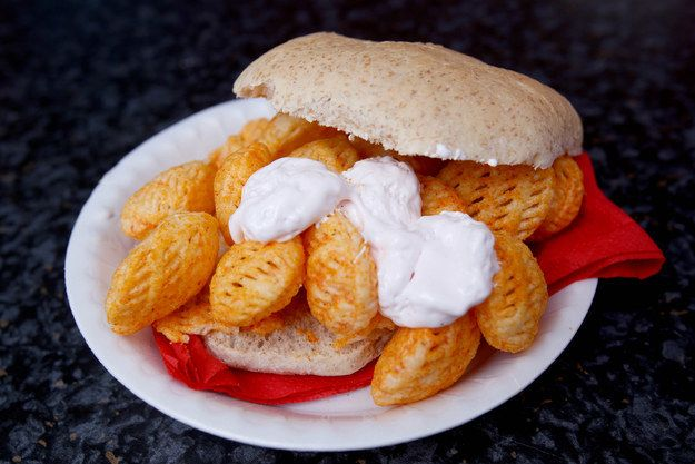 Or marshmallow on your BBQ Saucers bap. | A Shop That Specializes In Crisp Sandwiches Has Opened In Yorkshire