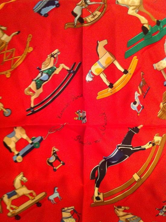 A lovely Hermès scarf