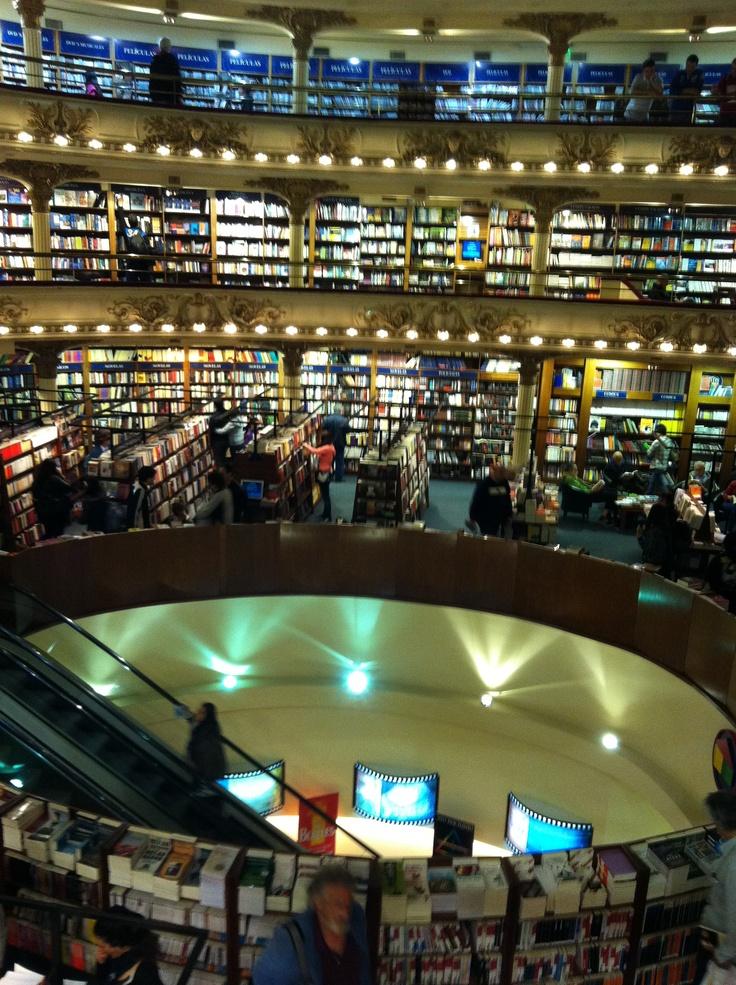 Librería El Ateneo; visita a Buenos Aires.