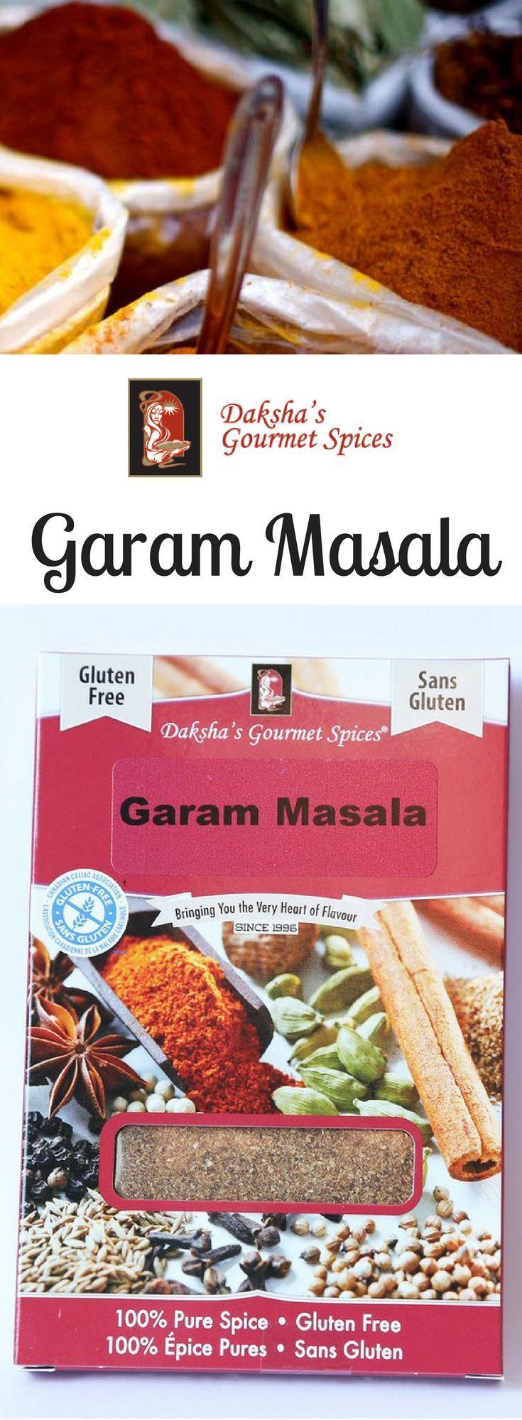 Daksha's Garam #Masala! Freshly ground traditional #IndianSpice blend used in many meat, lentil and vegetarian dishes.
