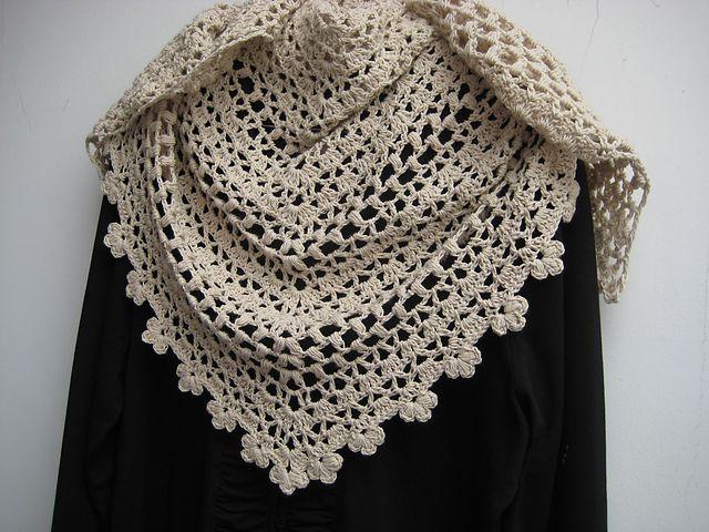 shawl crush - crochet pattern