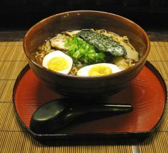 Japanese Ramen Noodle Soup-- because ramen is yummy.