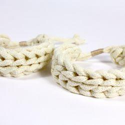 cotton cord bracelet