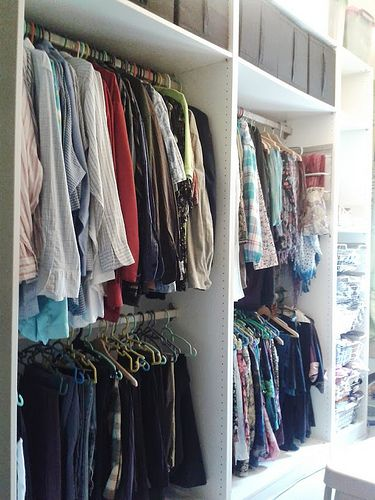 My pax (Ikea) wardrobe without doors