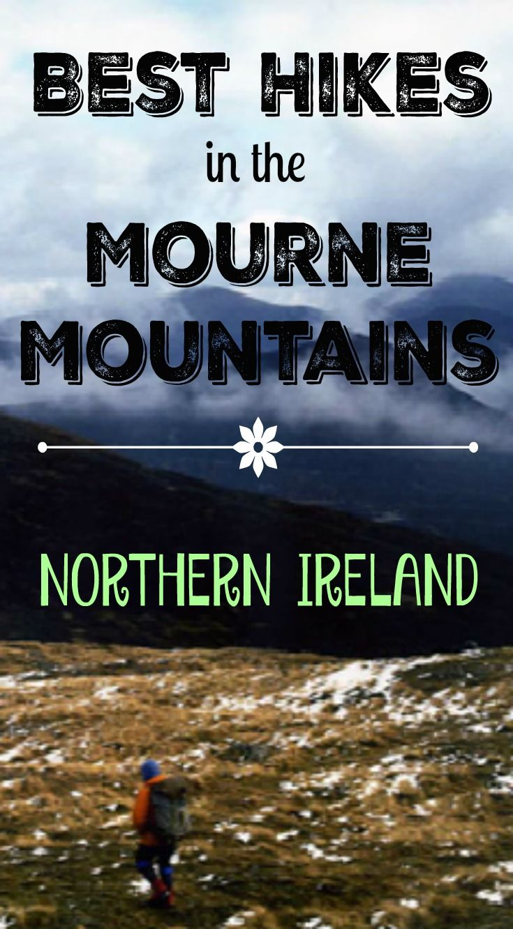 Best Hikes in the Mourne Mountains of Northern Ireland. Northern Ireland is rapidly becoming a must see destination on the world map with some incredible landscapes suitable for a wide range of hikers of all abilities and age groups. http://www.divergenttravelers.com/best-hikes-mourne-mountains-northern-ireland/