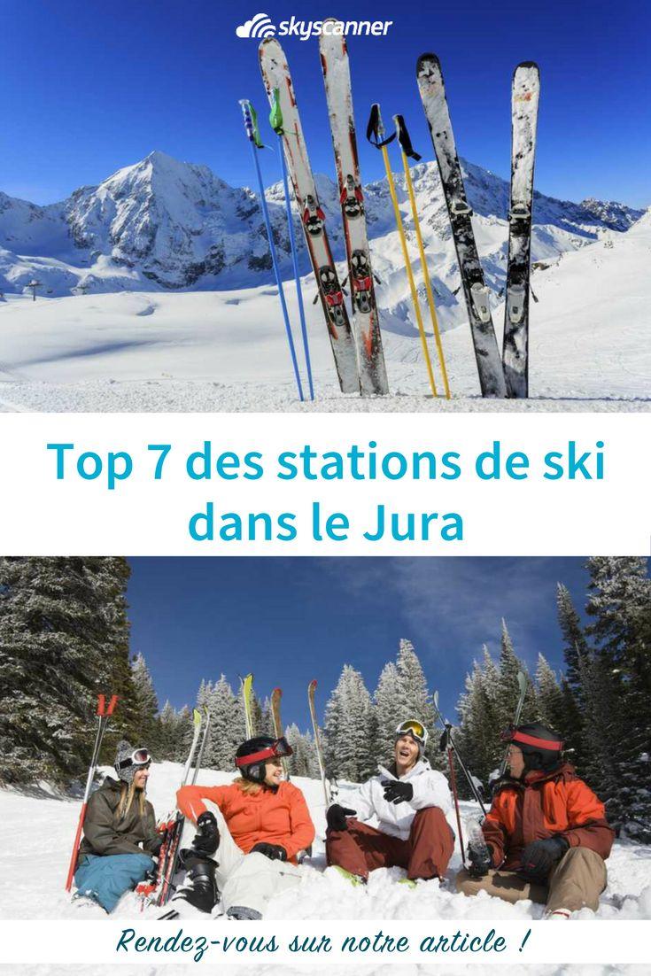 Vous désirez faire un séjour ski dans le Jura ? Voici les 7 stations de ski  dans le Jura à ne pas manquer #jura #montagne #france #europe #ski