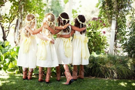 cowgirl wedding dress - Google Search: Cowgirl Boots, Little Girls, Flower Girls Dresses, Brown Cowboys Boots, Girls Boots, Girls Shoes, Weddings Boots, Dresses Weddings, Cowgirl Weddings