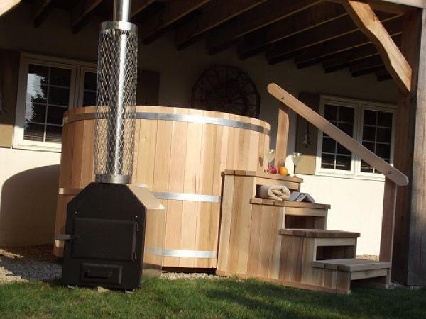 how to build a cedar hot tub