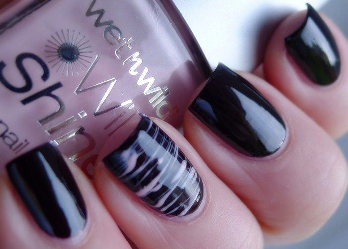 The Nail Buff: OPI Lincoln Park After Dark with Stripes