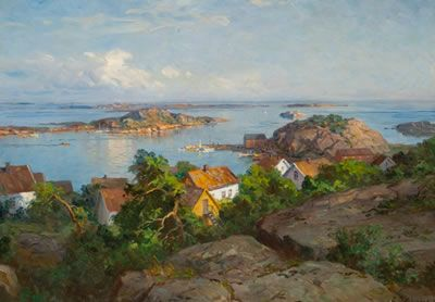 Even Ulving 1863-1952: Skjærhalden Hvaler