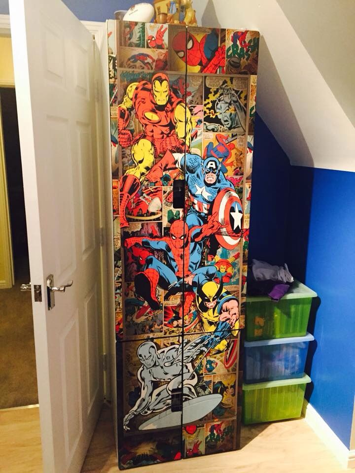 Perfect Superhero Marvel Themed Kids Wardrobe