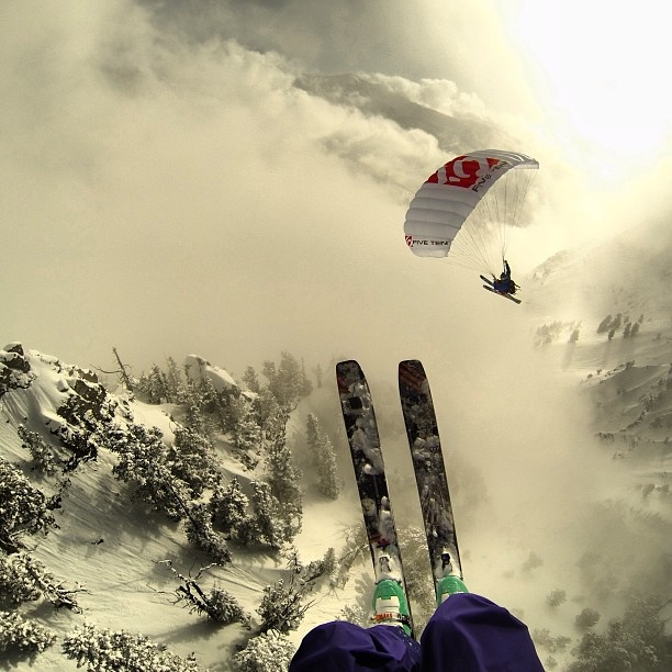 When we grow up, we want to be the @goprobombsquad ! #GoPro #snow #speedfly #winter #TeamGoPro - @gopro- #webstagram