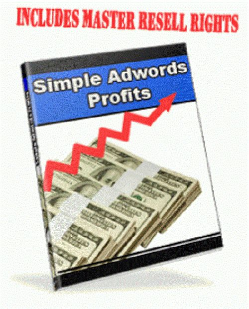 AdWords Profits Master Resell Rights Free International Shipping