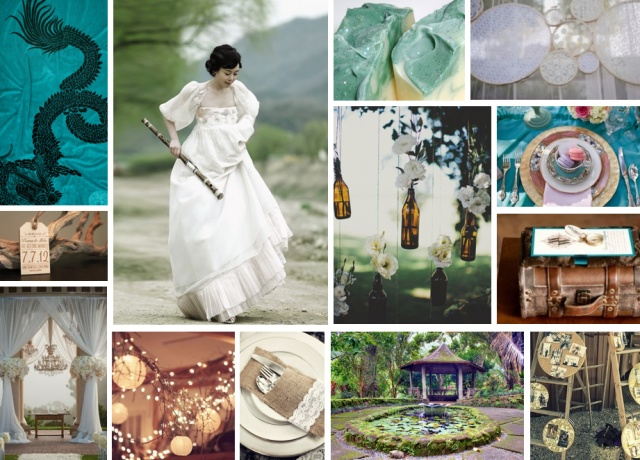 {hanbok} Korean blue and brown vintage weddingKorean Clothing, Korea Wedding Decor, Korean Inspiration, Korean Dress, Korean Wedding, Burnett Boards, Hanbok Hawaii, Wedding Inspiration Boards, Blue Wedding