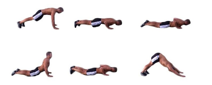 Image result for DOLPHIN PUSH-UP exercise