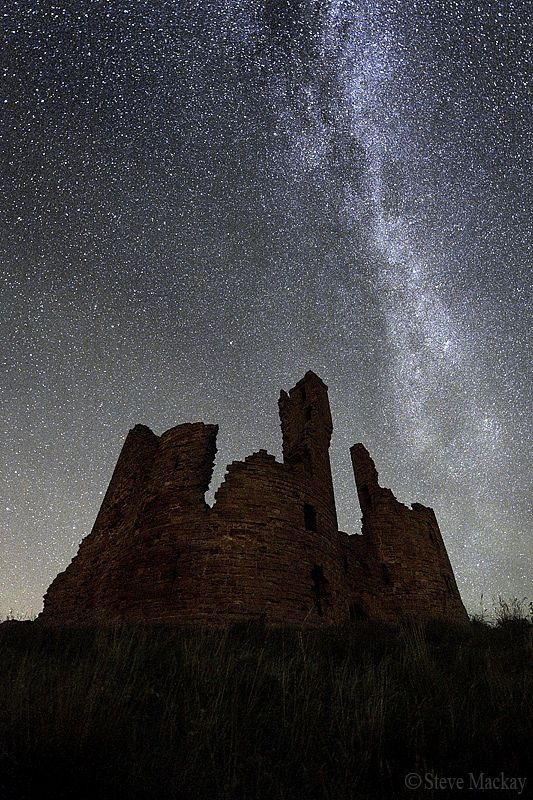 dunstanburgh at night - Google Search