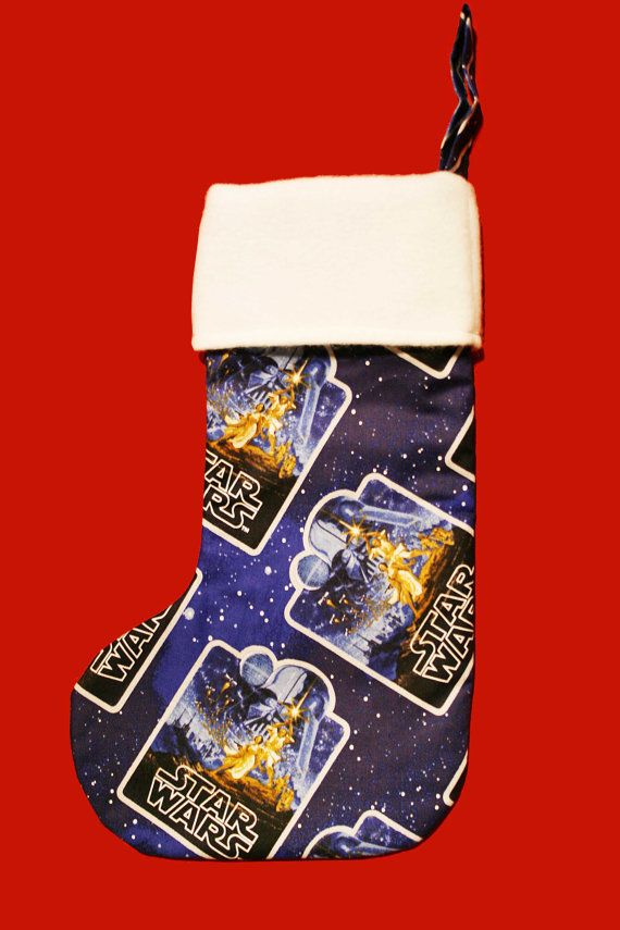 Star Wars Christmas Stocking Star Wars by BlossomvioletCrafts
