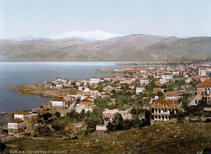 Beirut in 1900.