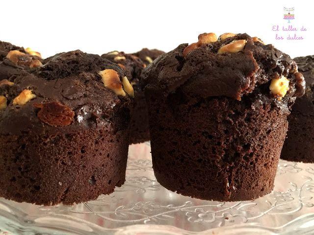EL TALLER DE LOS DULCES: ♥ Muffins tres chocolates