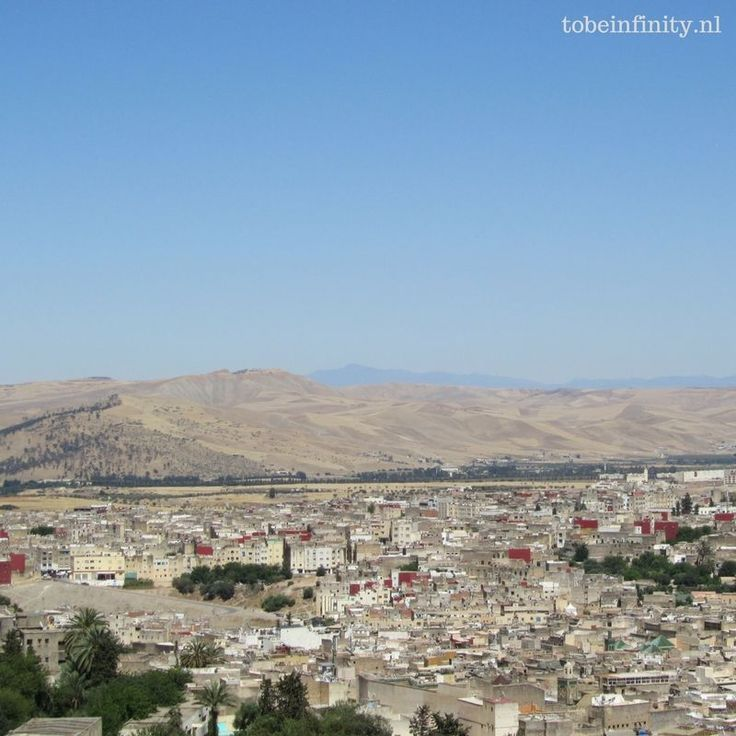the best view of Fes, Morocco