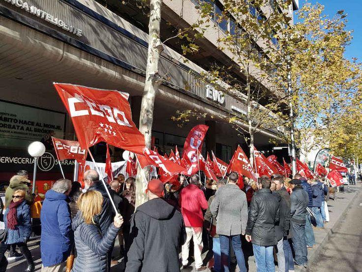 Huelga en Evobanco