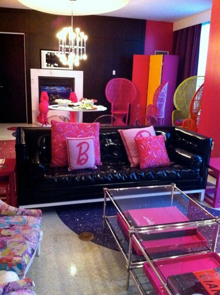 Jonathan Adler-designed Barbie Suite at The Palms, Las Vegas