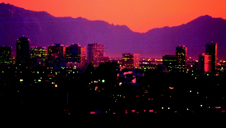 The city of #Phoenix has the back drop of incredible #mountains and #deserts. Take a trip there to experience it for yourself. #Arizona #travel