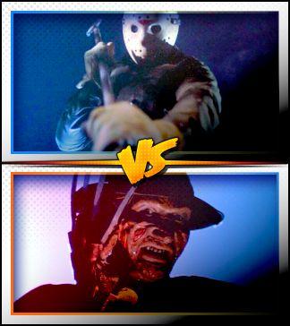 JASON VOORHEES versus FREDDY KRUEGER ■ http://terror.ca/movies/franchise/rank?f=258&f2=257