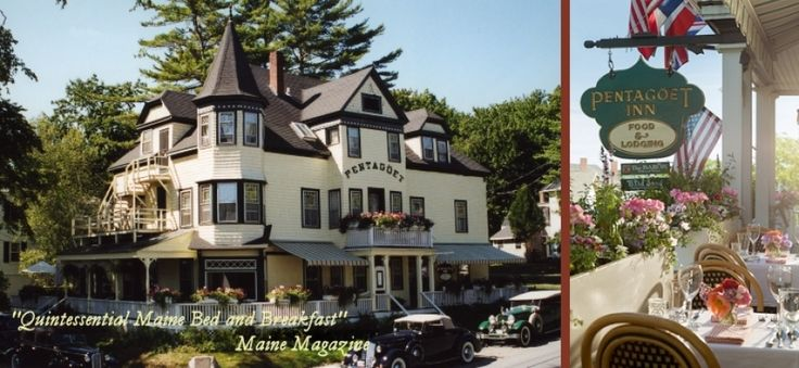 Maine Bed and Breakfast :: Award Winning Pentagoet Inn and Restaurant - Pentagoet Inn -- Castine, Maine