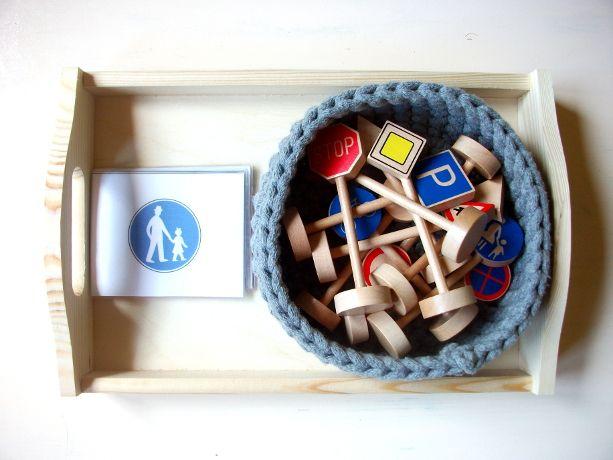 Moje Montessori Znaki drogowe