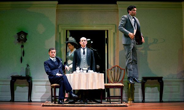 """""""Travesties"""" by Tom Stoppard at McCarter Theater Center (on Princeton campus, New Jersey), March 23, 2012"""