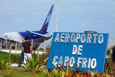 Visão La Flora: Fluxo de voos no aeroporto de Cabo Frio aumenta du...