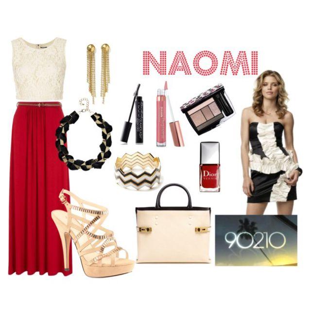 90210: Naomi Clark by yanyaniel
